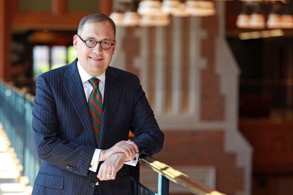 Chancellor Andrew D. Martin Portrait