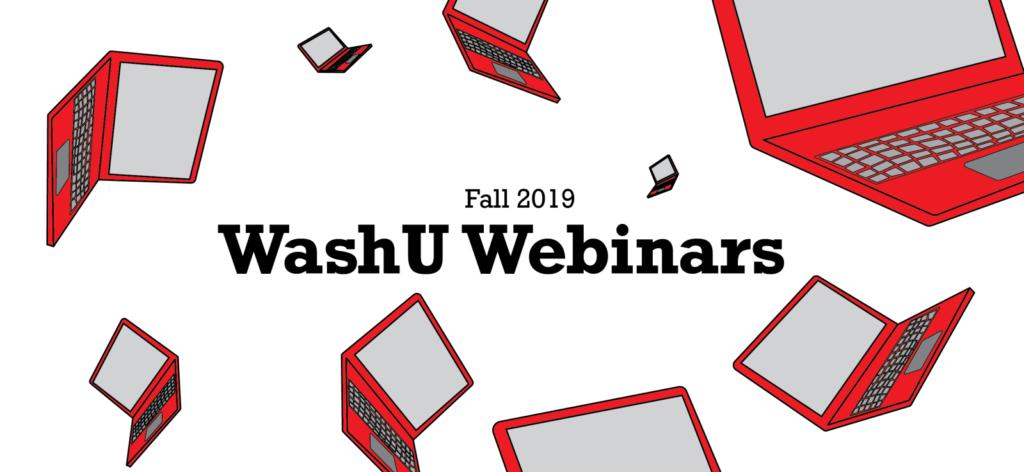Fall 2019 Webinar Series